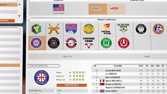 International Basketball Manager prichádza na Steam