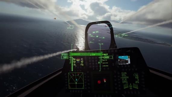 Ace Combat 7 - VR gameplay