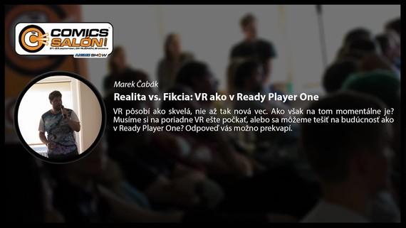Prednáška: Realita vs Fikcia - VR ako v Ready Player One
