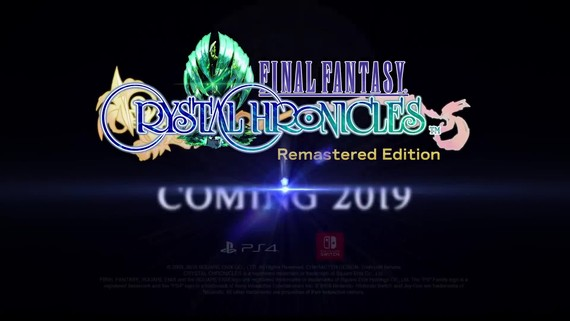 Square Enix oznamuje Final Fantasy Crystal Chronicles Remastered Edition