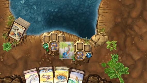 Nevšedná hra s dinosaurami Evolution vyloží karty budúci mesiac