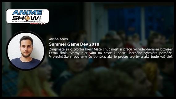 Prednáška: Summer Game Dev