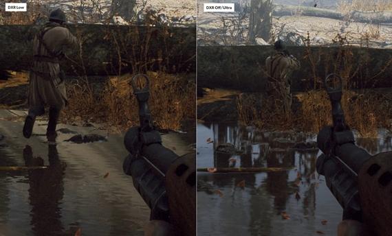 Analýza grafiky a raytracingu v Battlefielde V