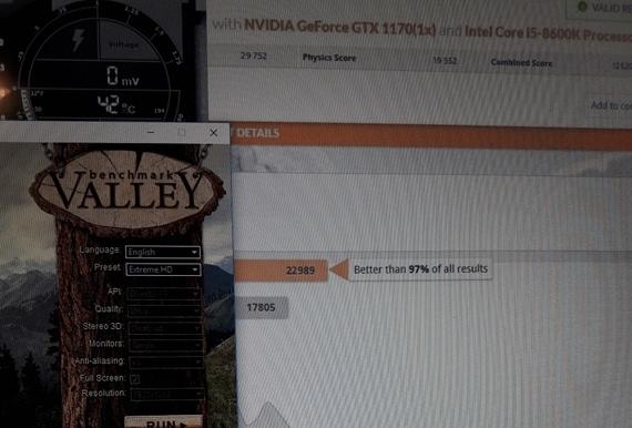Je toto benchmark GTX1170?