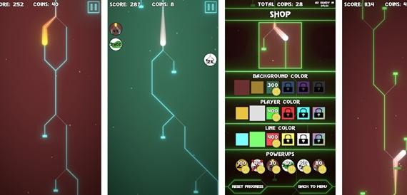 Malá slovenská mobilná hra - Line Switch