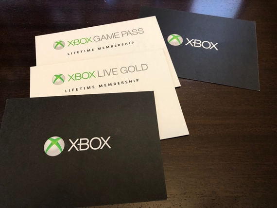 Microsoft ukázal Xbox One - Gold a Game Pass Life lifetime Membership