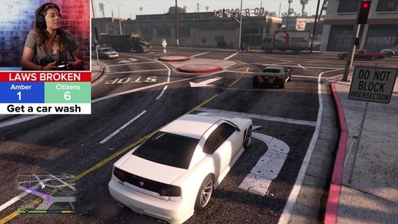 Policajtka si zahrala GTA V. Ako to dopadlo?
