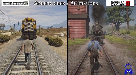 GTA V vs Red Dead Redmeption 2