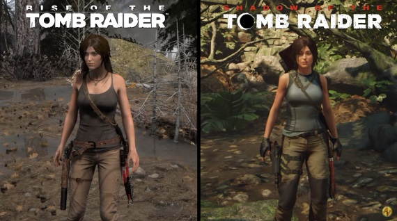 Porovnanie Rise of the Tomb Raider a Shadow of the Tomb Raider na PC