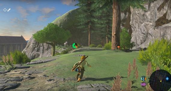 Ukážka emulácie Legend of Zelda: Breath of the Wild na PC