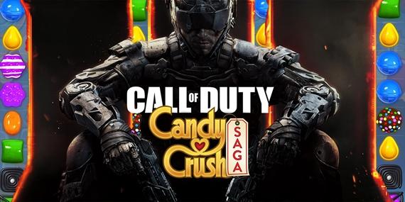 Vývojári Candy Crush pracujú na mobilnej Call of Duty hre