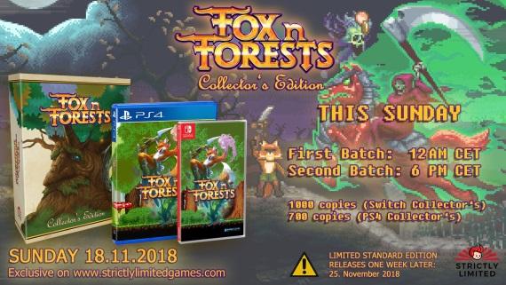 16-bitová platformovka Fox N Forests sa čoskoro dočká naozaj veľmi limitovanej edície