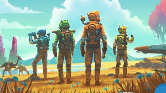 Boxart pre Xbox One verziu No Man's Sky naznačuje multiplayer