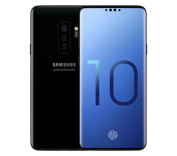 Bude takto vyzerať Galaxy S10?