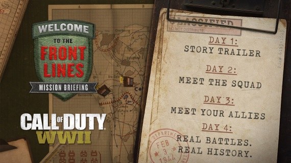 Call of Duty WWII dnes predstaví singleplayer kampaň