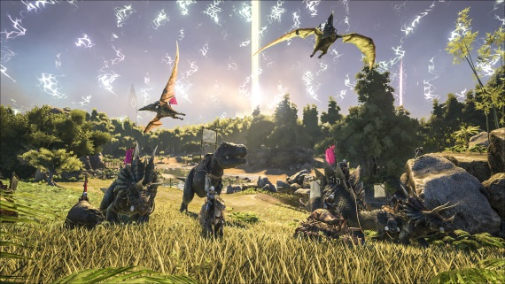 Crossplatform medzi Xbox One a PS4 nebude ani v Ark: Survival Evolved