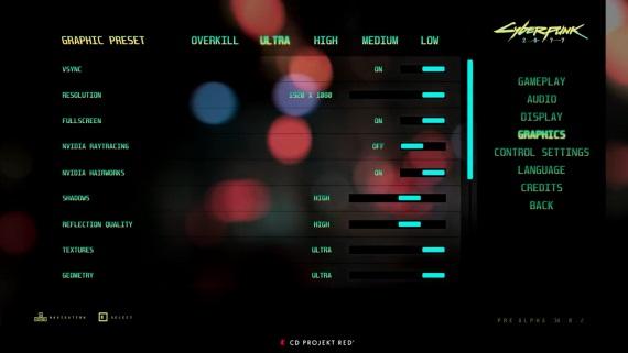 Cyberpunk bude podporovať ako hairworks, tak raytracing v PC verzii