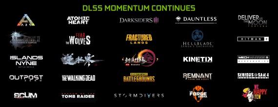 Ďalšie hry pridávajú podporu DLSS pre prichádzajúce Geforce RTX karty