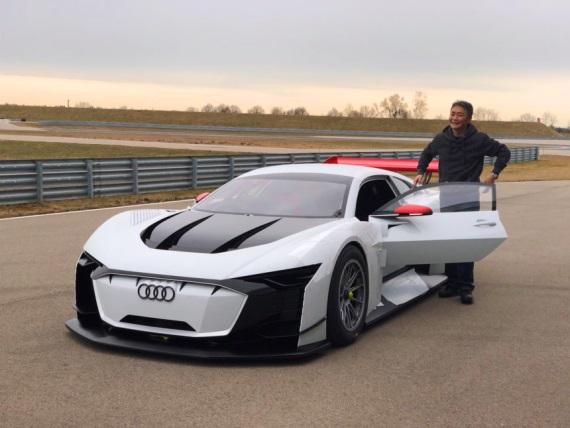 Do Gran Turismo Sport dorazil s novou aktualizáciou koncept auta od Audi