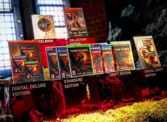 Edície Shadow of the Tomb Raider predvedené