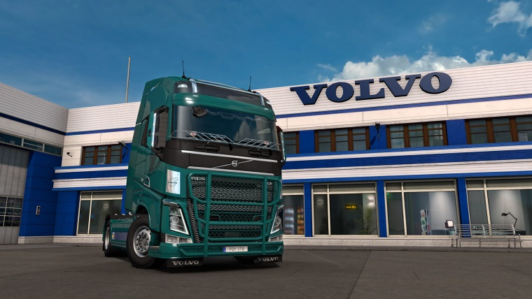Euro Truck Simulator 2 dostáva FH Tuning Pack
