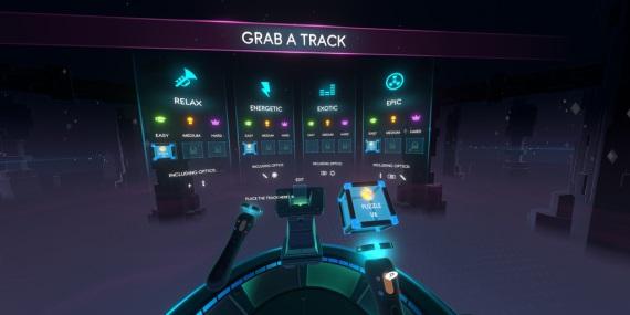Hudobná VR hra Track Lab dostala dátum vydania