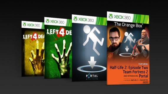 Klasické Valve tituly sú dostupné v spätnej kompatibilite Xbox One a vylepšené pre Xbox One X