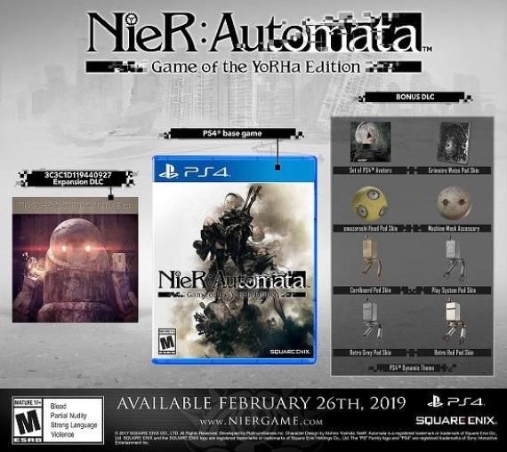 Nier: Automata - Game of the YoRHa Edition oficiálne predstavená