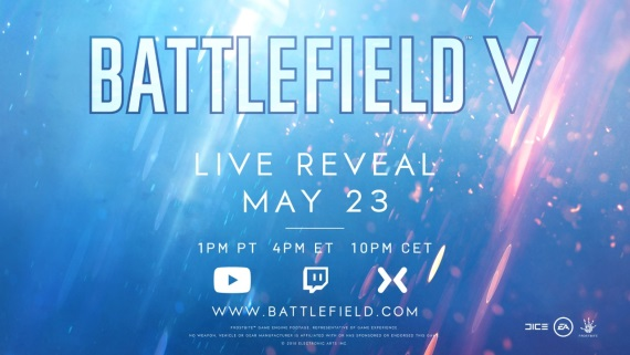 Predstavenie Battlefield V naplánované aj s livestreamom