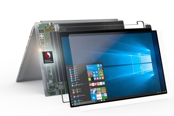 Prvé Windows 10 notebooky so Snapdragon 845 prichádzajú