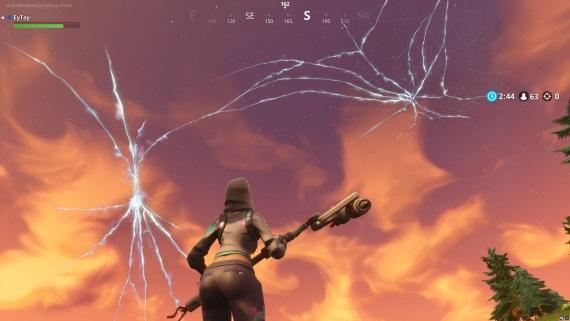 Rakety vo Fortnite trhajú oblohu