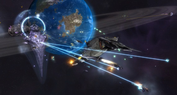 Sins of a Solar Empire: Rebellion je zadarmo na Humble Store