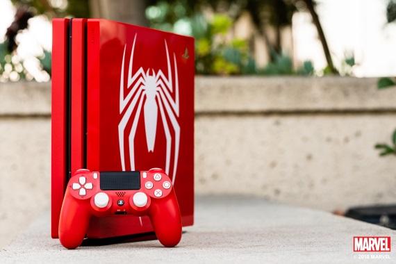 Spider-man verzia PS4 konzoly bližšie predvedená