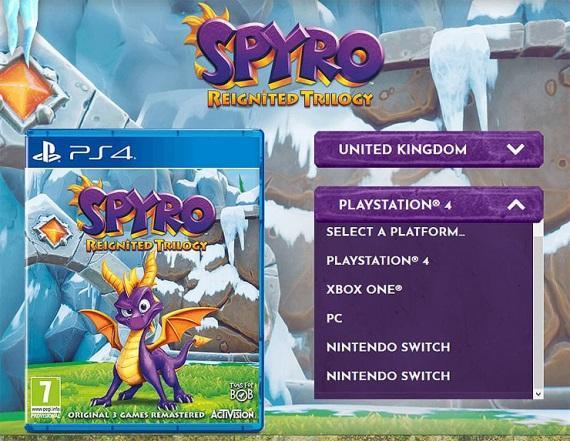 Spyro trilógia by mala vyjsť aj na PC a Switch
