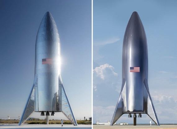 Vesmír: Musk ukázal dokončenú testovaciu Starship raketu