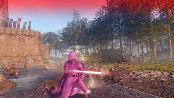 V Star Wars Battlefront 2 si už môžete zahrať s ružovým Darth Vaderom