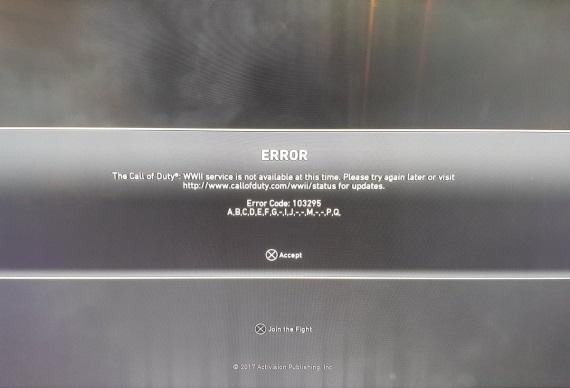 Vydanie Call Of Duty WWII nedopadlo podľa plánov, servery padali