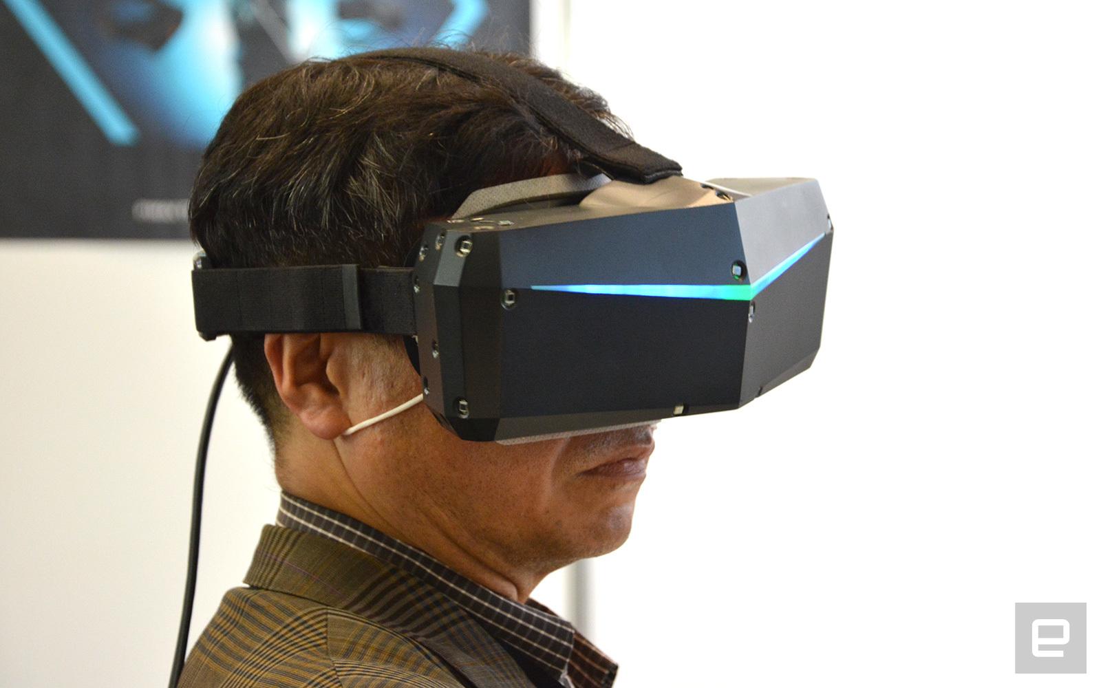 78df8200f ... spustil kickstarter Pimax predstavil 8K VR headset, spustil kickstarter