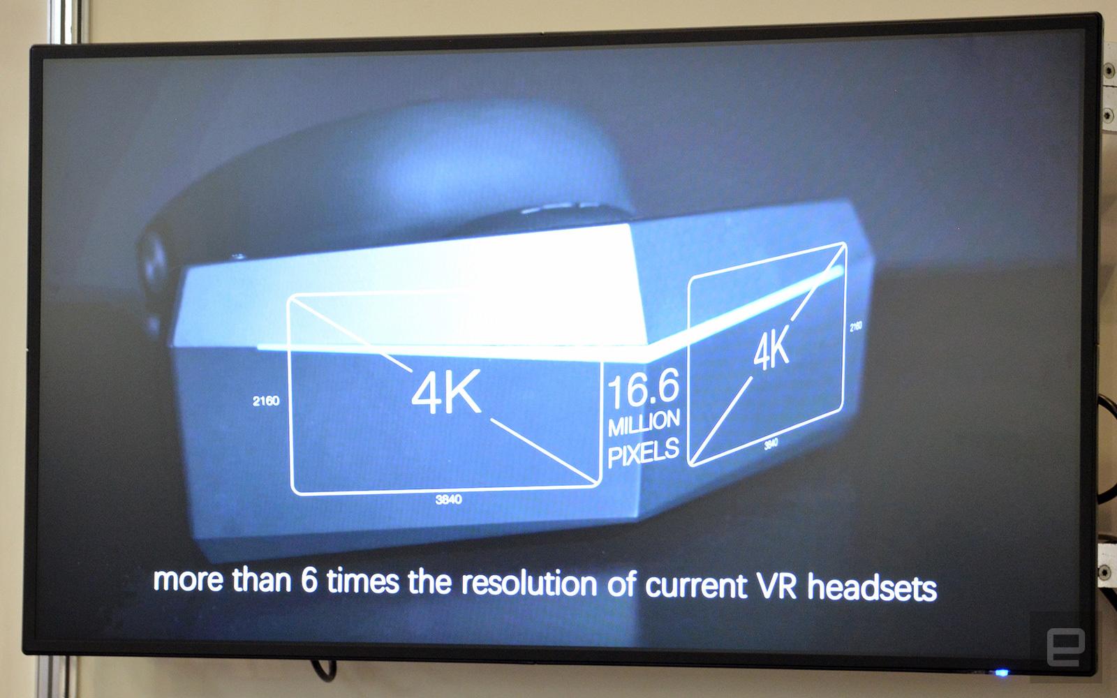 b60e2acd0 ... spustil kickstarter Pimax predstavil 8K VR headset, spustil kickstarter  ...