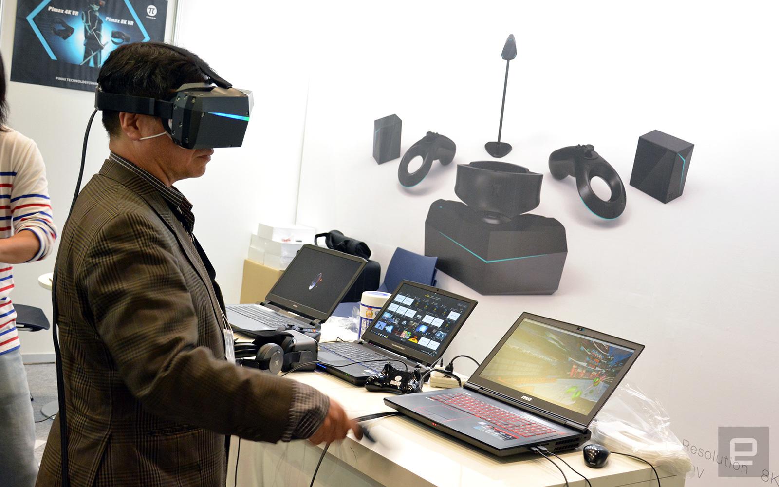5c4140527 Pimax predstavil 8K VR headset, spustil kickstarter | Sector