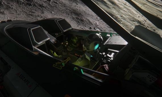 Star Citizen približuje kokpity vesmírnych lodí