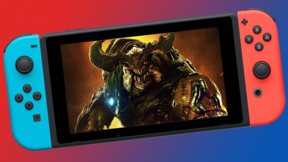 DOOM dorazí na Switch 10. novembra