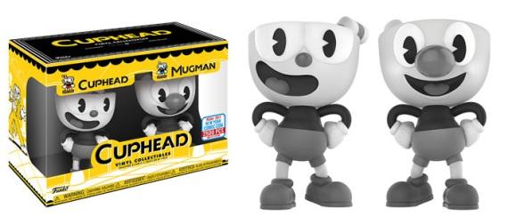 Cuphead figúrky budú dostupné na ComicCone