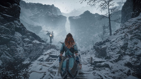 Horizon: Zero Dawn - The Frozen Wilds expanzia ukazuje zimné zábery