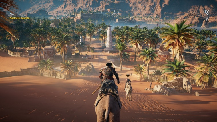 Ukážka menu a benchmark možností Assassin's Creed Origins na PC