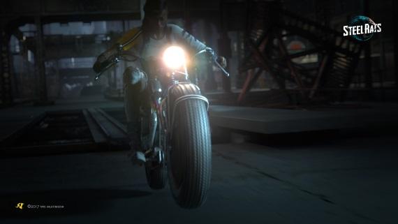 Retro-futuristické motorky Steel Rats sľubujú rýchlu jazdu aj dynamickú akciu