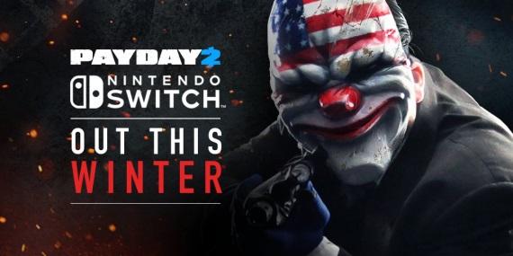 Payday 2 pre Switch sa ukazuje