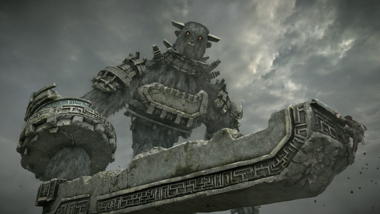 Zábery a gameplay z Shadow of Colossus