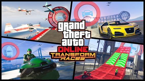 GTA Online dostane Transform races balík