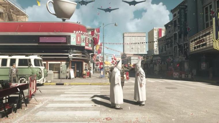 Bethesda nerieši aktuálny politický problém nacizmu v Amerike, Wolfenstein II meniť nebudú, ani svoj marketing